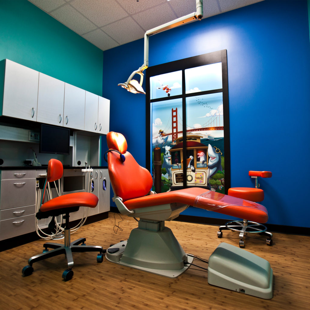 office tour of Smiling Seal Pediatric Dentistry