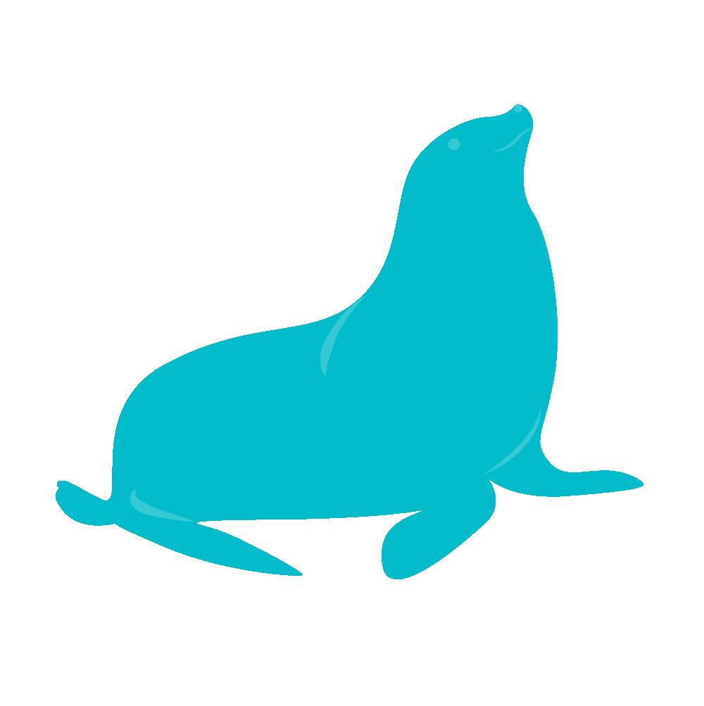 Smiling Seal Pediatric Dentistry seal sitting